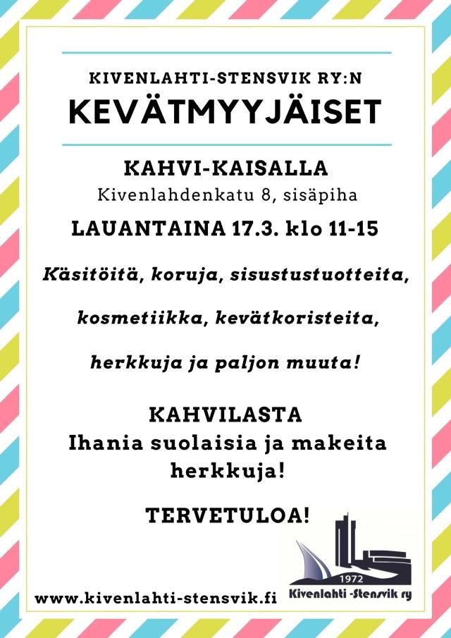 Kevätmyyjäiset_17.3.2018