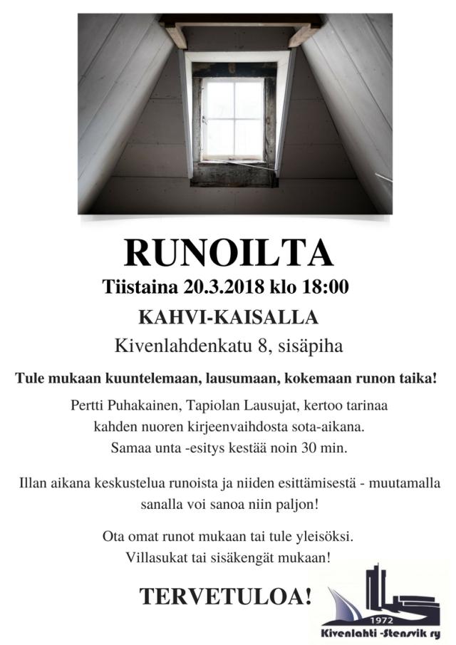 Runoilta_20.3.2018