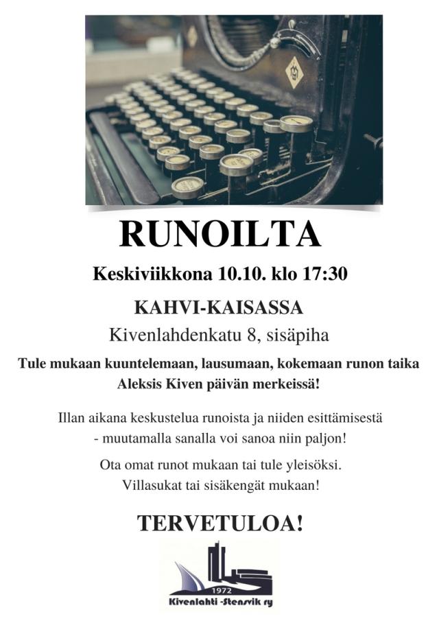 Runoilta_10102018