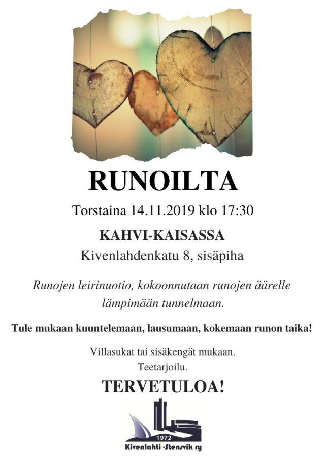 Runoilta_14.11.2019
